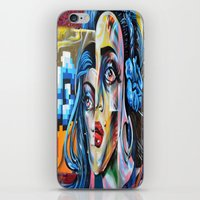 madonna iPhone & iPod Skins featuring Madonna by Robin Curtiss