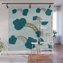 Rainbow in full colours Wall Mural
