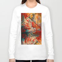 runner Long Sleeve T-shirts featuring Kite Runner by CMYKulaga