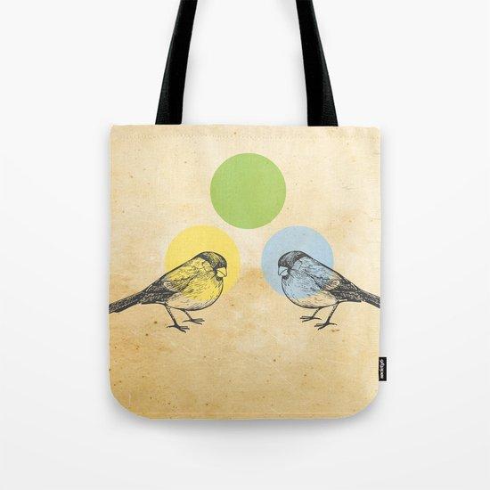 Together we make green Tote Bag