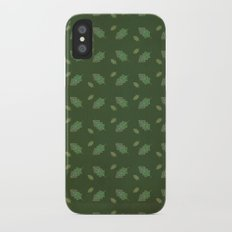 leaf pattern Slim Case iPhone X