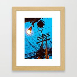 Poste_01 Framed Art Print