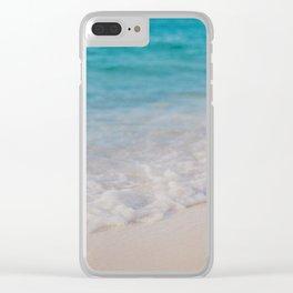 Beach01 Clear iPhone Case