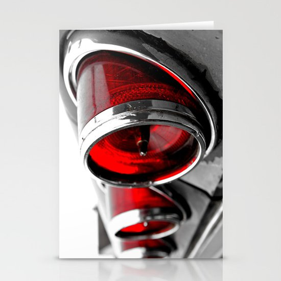 Impala taillights Stationery Cards