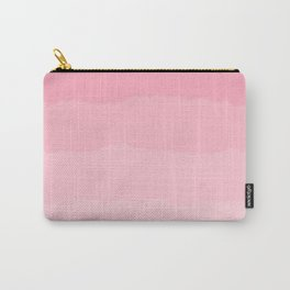 Light Pink Cloud Layers Carry-All Pouch