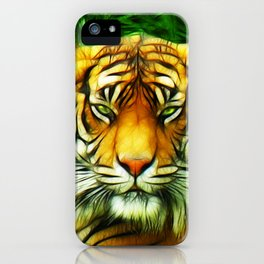 Tiger is Not Amused iPhone Case