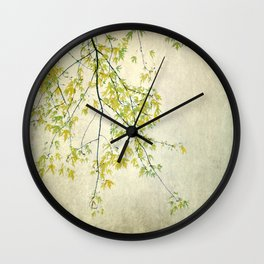wake me up when september ends Wall Clock