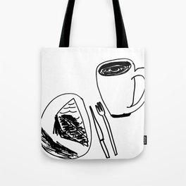 Pie & Coffee Tote Bag