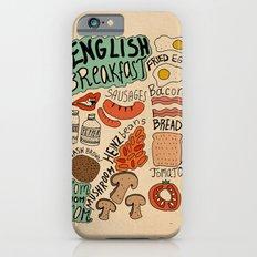 English Breakfast iPhone 6s Slim Case