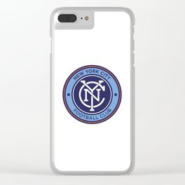NEW YORK CITY FC Logo Clear iPhone Case