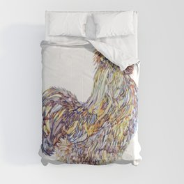 Silkie Chicken Rooster - Henry Comforters