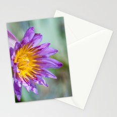 Blue Egyptian Water Lily 540 Stationery Cards