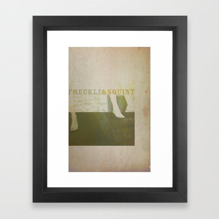 Freckle&Squint3 Framed Art Print
