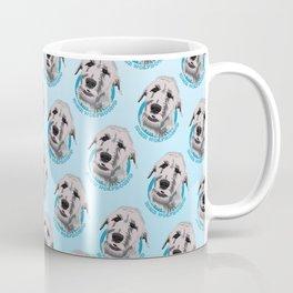 Irish Wolfhound Print Coffee Mug