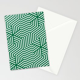 Cadmium green - green - Minimal Vector Seamless Pattern Stationery Cards