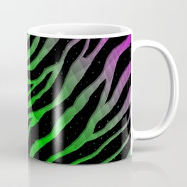 Ripped SpaceTime Stripes - Pink/Green Coffee Mug