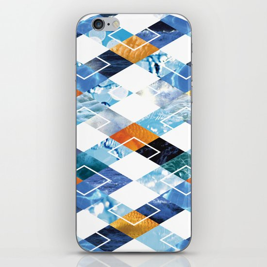 Argyle Aquarium iPhone & iPod Skin