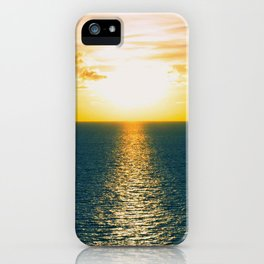 Sunset in July iPhone Case