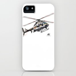 Troopers Bell 407 iPhone Case