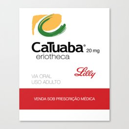 Kitchen Posters - Cialis/Catuaba Canvas Print
