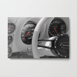 The Driver's Seat Metal Print