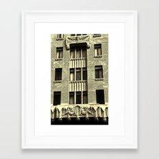 Tourist in the LBC Framed Art Print