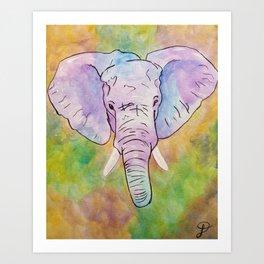 Elephant 269 Art Print