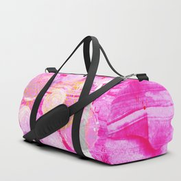 Luminosity of cerise Duffle Bag