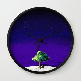 What's that on the moon? Wall Clock