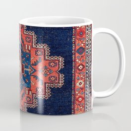 Afshar Kerman South Persian Rug Print Coffee Mug