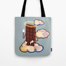 May Chocolate lord bless you! Tote Bag