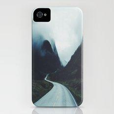 Dark road iPhone (4, 4s) Slim Case
