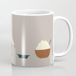 Thanksgiving Line-up Coffee Mug
