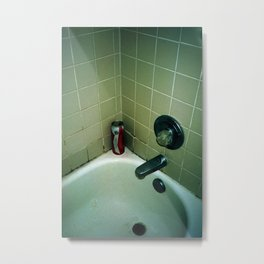 shower beer Metal Print