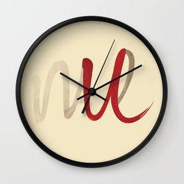 It's not u, it's me. Wall Clock