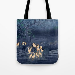 Foxfires at the Changing Tree Tote Bag