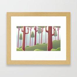 Dásos Framed Art Print