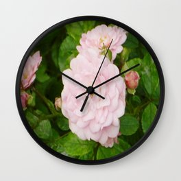RomanticRose Wall Clock