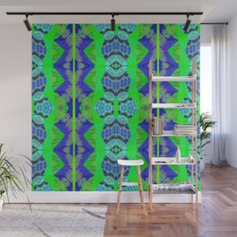 Soul Heal Color Therapy Neo Tribal Feng Shui Cooling Element Wall Mural