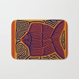Here Fishy, Fishy Bath Mat