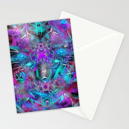 Abstract Energy 2 Stationery Cards