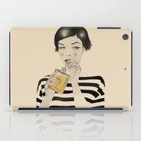 drink iPad Cases featuring Drink Responsibly by Roberta Zeta