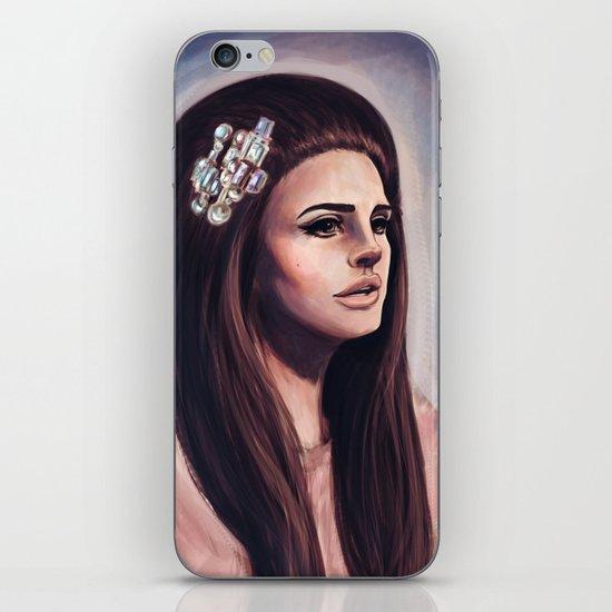 She Wore Blue Velvet iPhone & iPod Skin