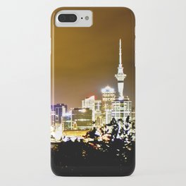 Auckland. Night Time 3 iPhone Case