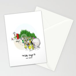 Zombies of Mont Ventoux Stationery Cards