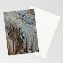 Footprint Of Two Worlds Stationery Cards