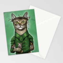 Druid Cat Stationery Cards