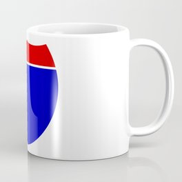Interstate Shield Sign Coffee Mug