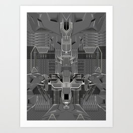 post organic Art Print