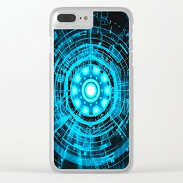 Arc Reactor Clear iPhone Case